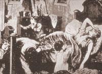 The Devastation of Cholera, ca. 1885