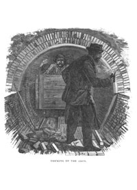 The Great Chicago Lake Tunnel, 1867  Courtesy of Chicago Public Library