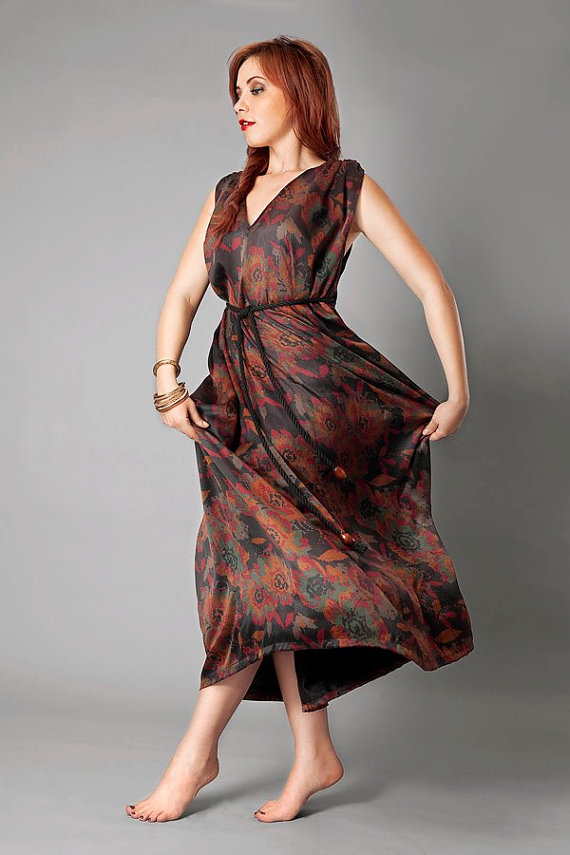 Kali Clothing Mud Silk Dress Made in USA
