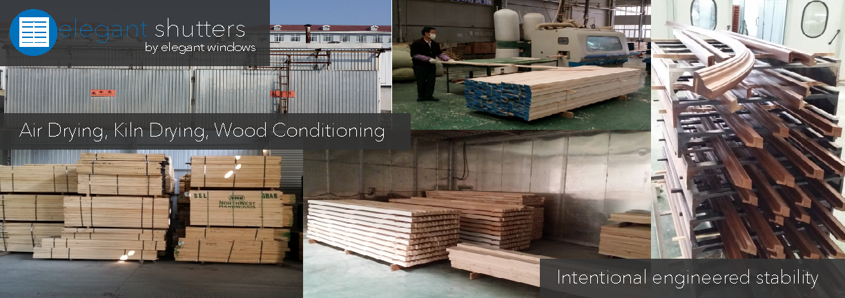 What is wood conditioning?    The timber of living trees and fresh logs contains a large amount of water which often constitutes over 50% of the wood's weight. Water has a significant influence on wood. Wood continually exchanges moisture or water with its surroundings, although the rate of exchange is strongly affected by the degree to which wood is sealed.