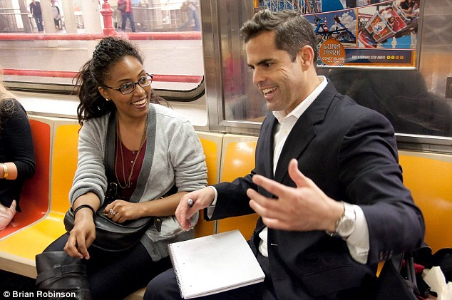 """""""1,000,000 people ride the subway EVERY DAY. Half of those riders: BEAUTIFUL WOMEN. I will SHOW YOU how to meet them."""" - Brian"""