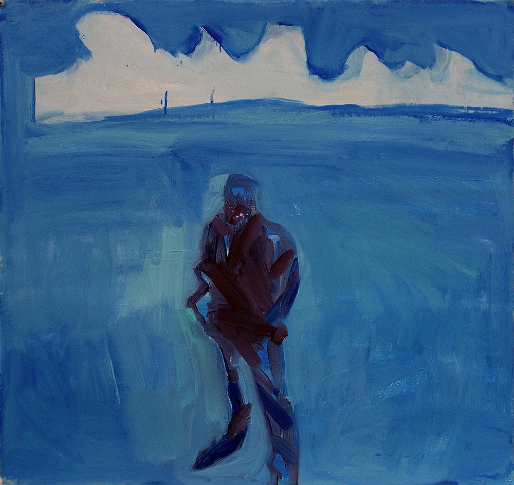 Figure with Cloud over the Sea, 2011