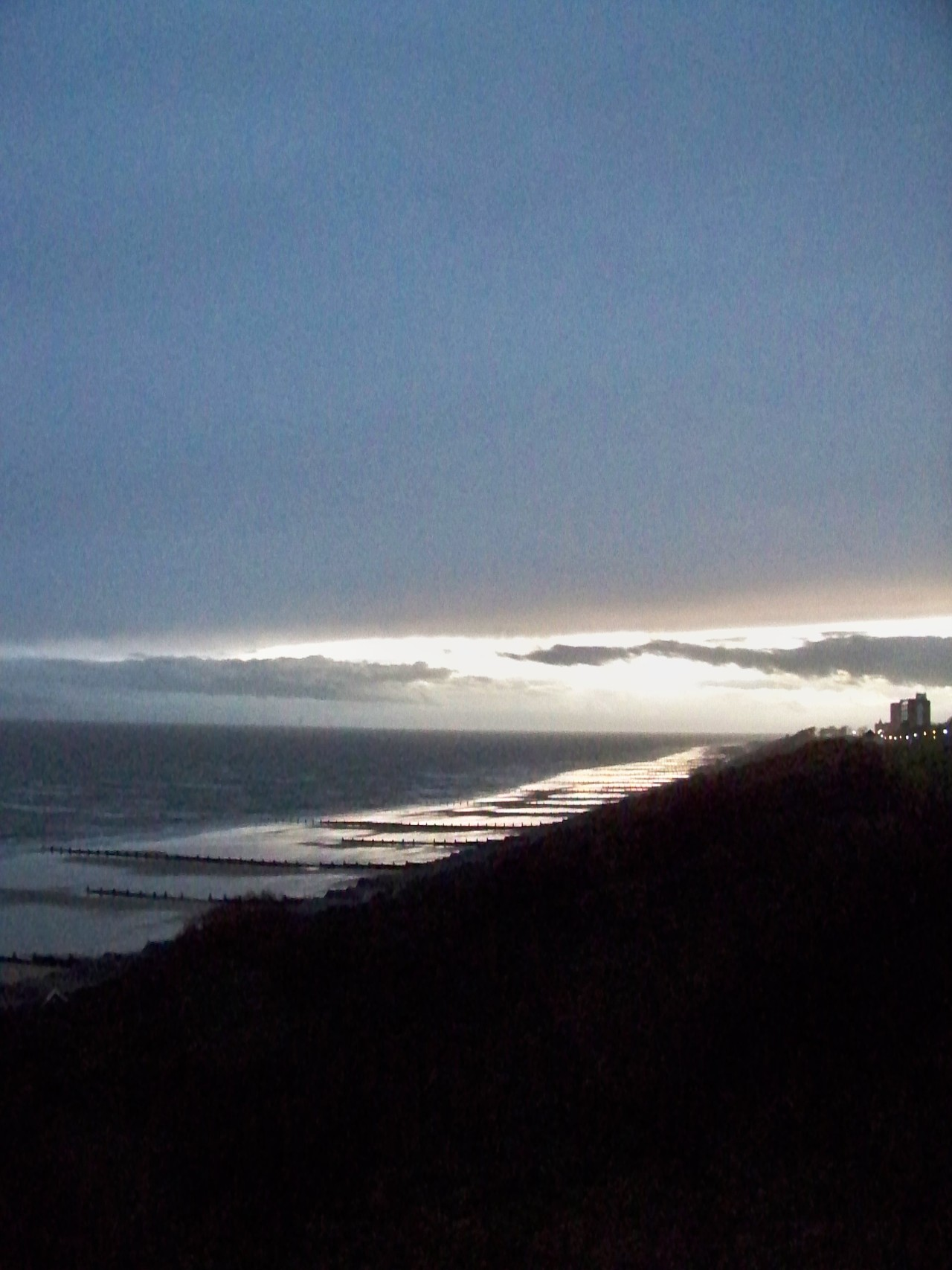 After our spell of ice cold and clear days we are back into Atlantic weather today; rain, wind and twilight by 3 o'clock.