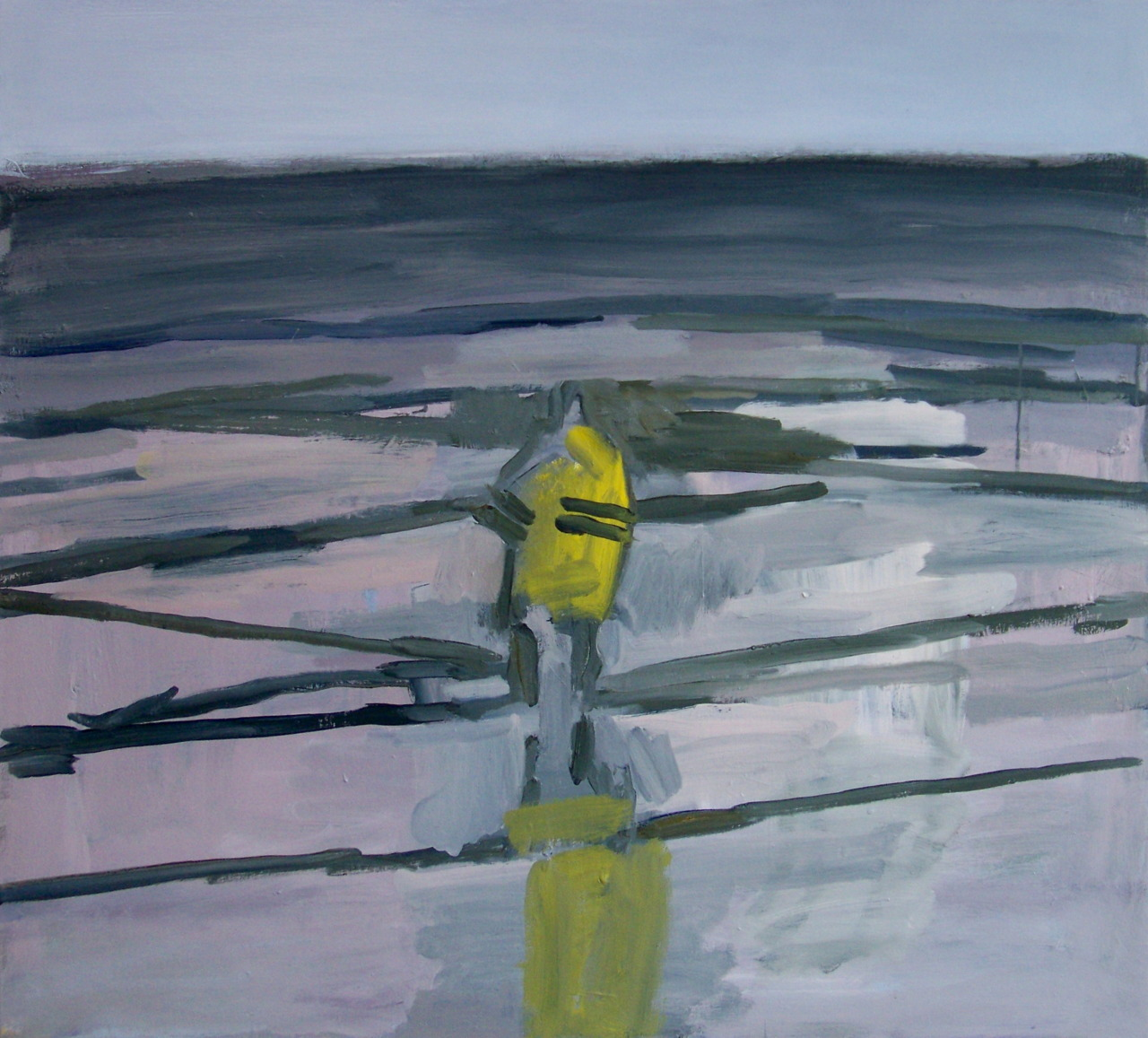 8th May 2012. I'm thinking that I might title this one 'Fishing""