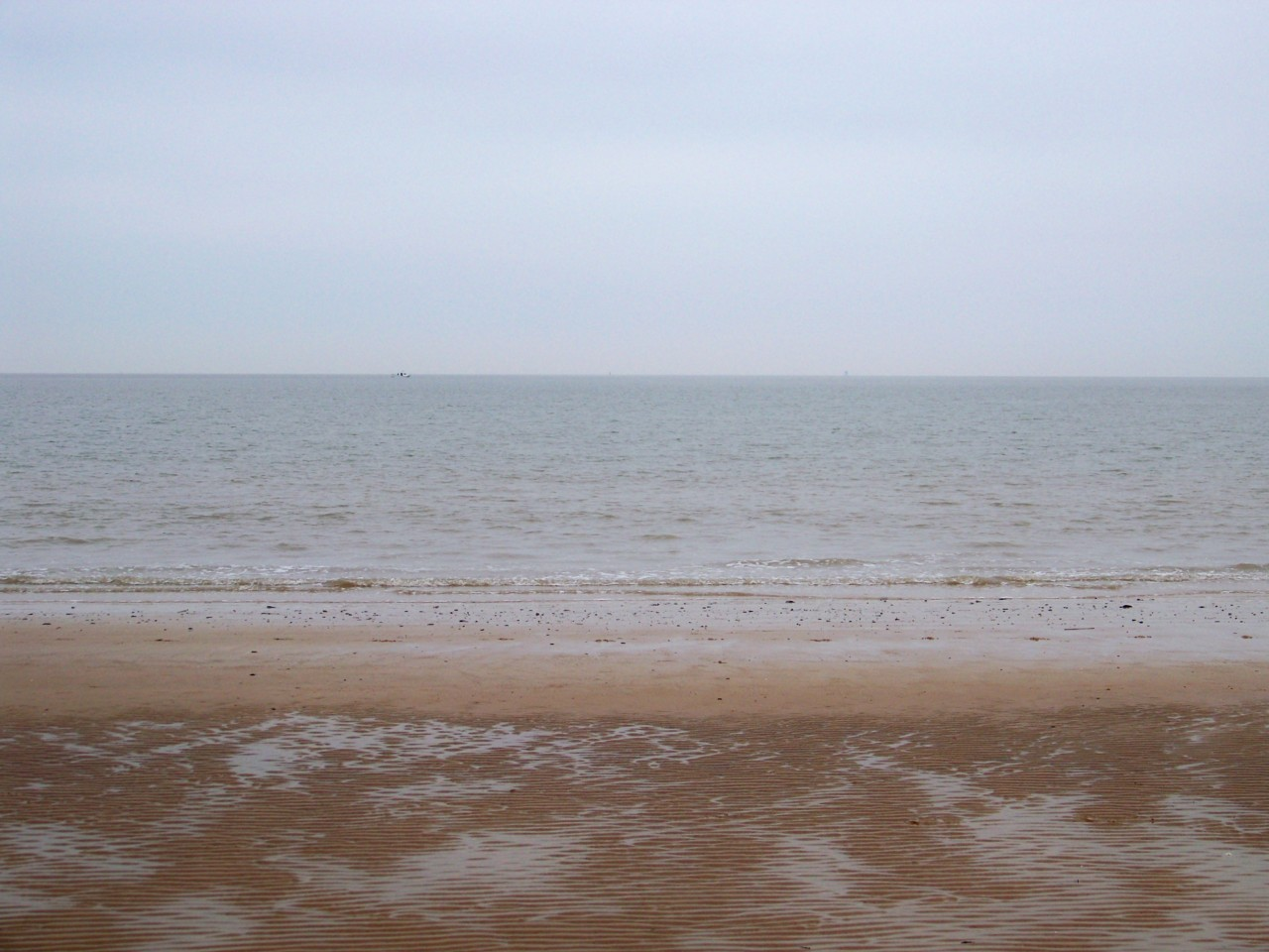 14th March 2012. Walking on the beach this morning; nothing much there except the  exhilaration of space.