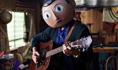 Frank playing guitar