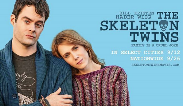 Promotional poster for The Skeleton Twins