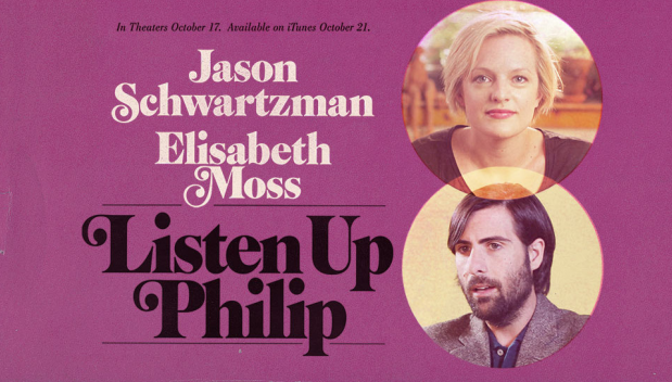 Promotional, Philip Roth-esque promotional poset for Listen Up Philip