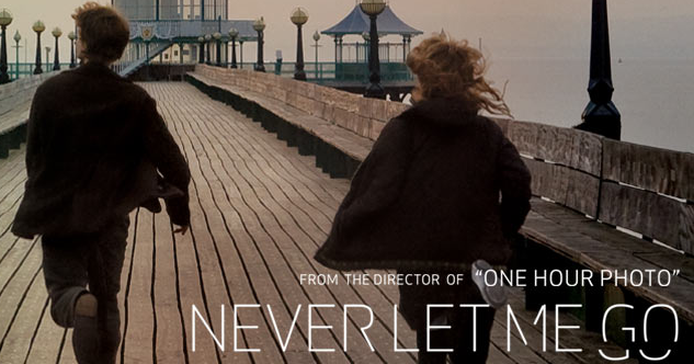 Promotional poster for Never Let Me Go