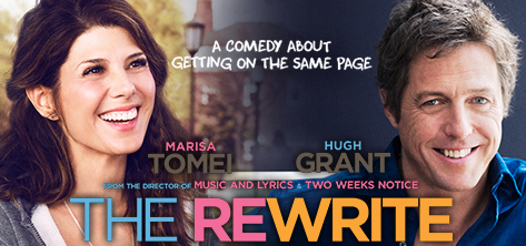 Promo poster for The Rewrite
