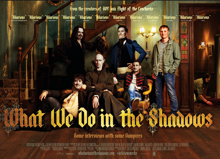 Promo poster for What We Do In The Shadows