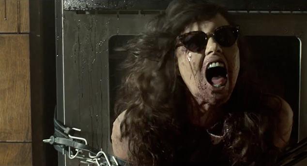 Full-fledged zombie bitch