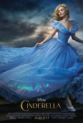 Promotional poster for Cinderella