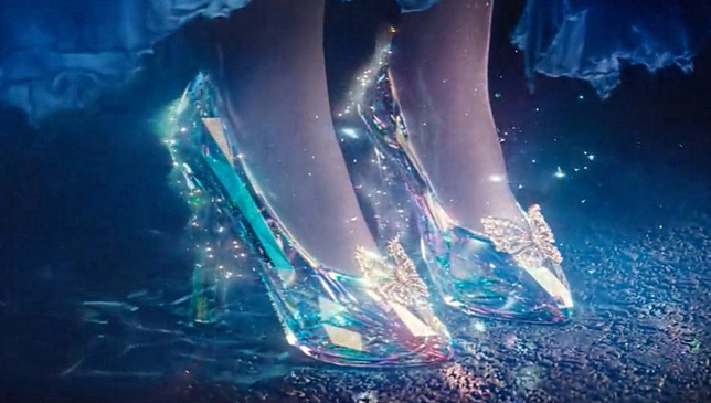 The modernized glass slippers