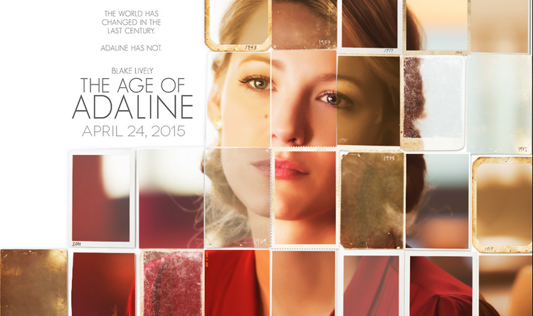 Promo poster for The Age of Adaline