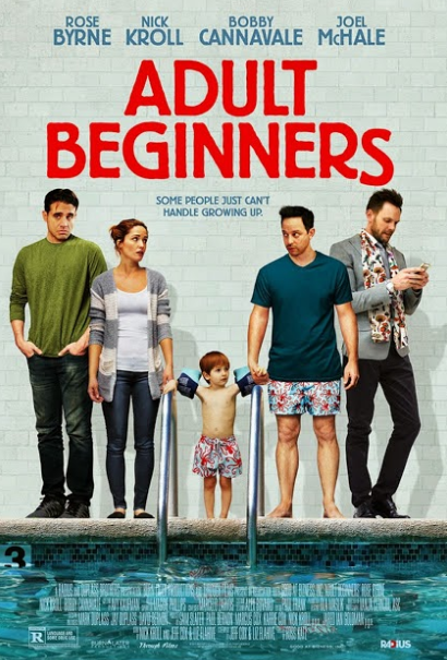 Promo poster for Adult Beginners