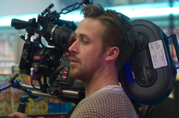 Ryan Gosling, semi at ease behind the camera