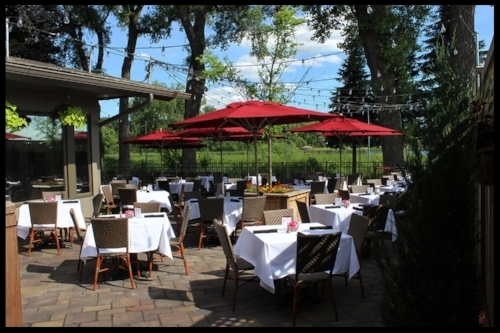 LAKESIDE PATIO - 90 GUESTS (SEATED)Easy access to The Dunsmore Room, MainStage or the lakeside lawn.