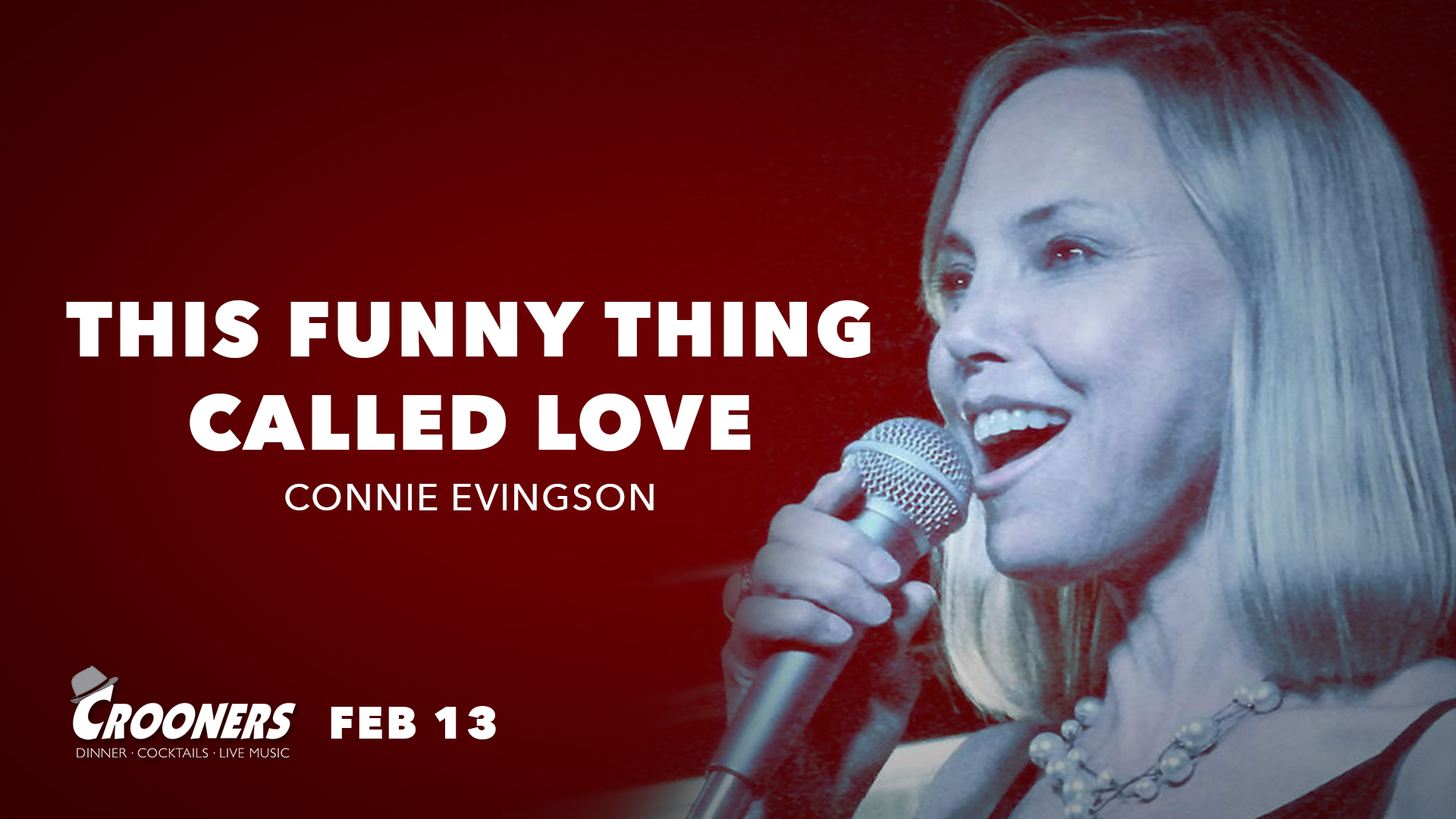 """This Funny Thing Called Love - A romantic Valentine's show with jazz vocalist Connie Evingson will put us all in the mood for love. She's a staple of the local jazz scene, with shows at the Jungle, and regular appearances at Crooners. It's time for us all to get a little closer, with the Minnesota born-and-raised """"A Prairie Home Companion"""" alum as our guide and inspiration."""