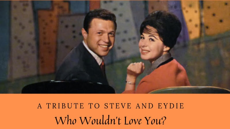 """Who Wouldn't You Love? A Tribute to Steve & Eydie - The """"gently virtuosic jazz vocalist"""" (All About Jazz) Maud Hixson and the crooner Jason Richards make it a date as they salute the love songs and chemistry of Steve Lawrence and Eydie Gormé. This brand new show is a celebration of that classic mid-century couple. With Rick Carlson on piano."""