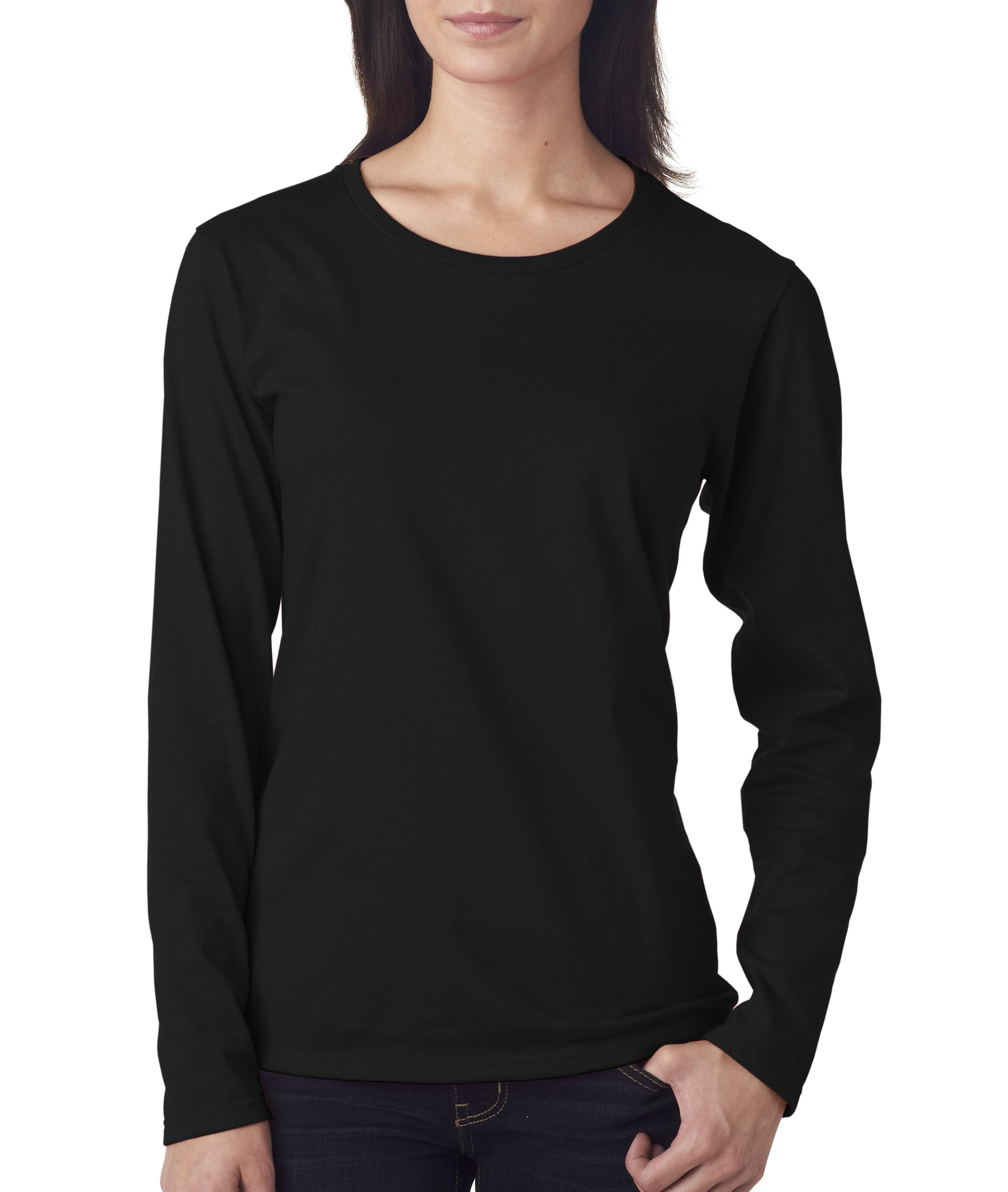 Anvil Ladies' Lightweight Long Sleeve T-Shirt