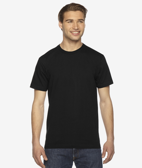 American Apparel 2001 - 100% Jersey Cotton T-Shirt