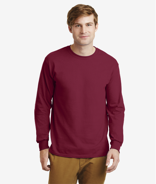 Gildan 24000 - Unisex 6 oz. Cotton Long Sleeve T-Shirt
