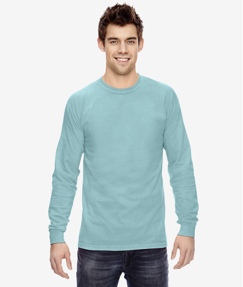 Comfort Colors C6014 - Unisex 6.1 oz Jersey Cotton Long Sleeve T-Shirt