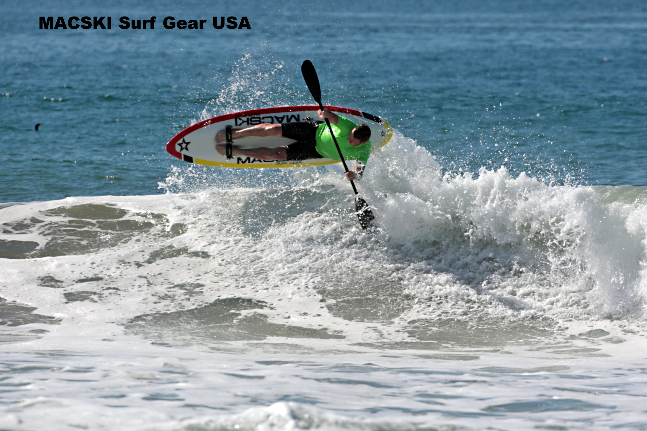 MACSKI Surf Gear USA- Showing Ian Macleod, Owner - San Luis Obispo, CA, USA - click on the picture to go to Macski Surf Gear website - Photo Copyright Dominick Lemarie Photography