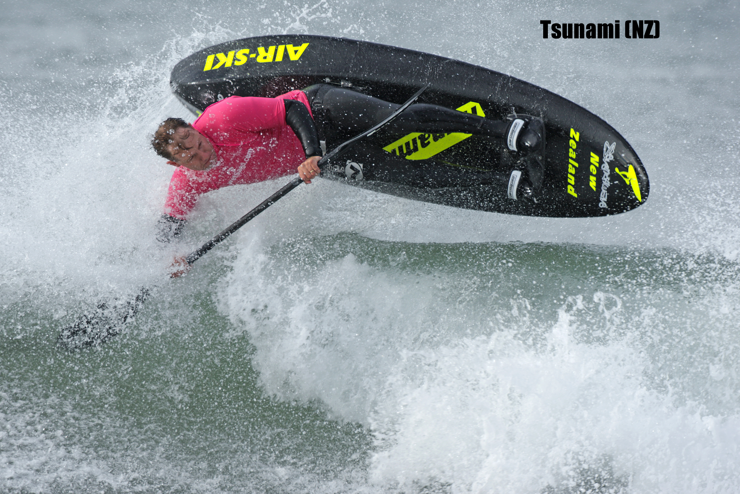 TSUNAMI (New Zealand) - Showing Tony Cherry, Team Rider - click on the picture to go to Tsunami website - Photo Copyright Dominick Lemarie Photography