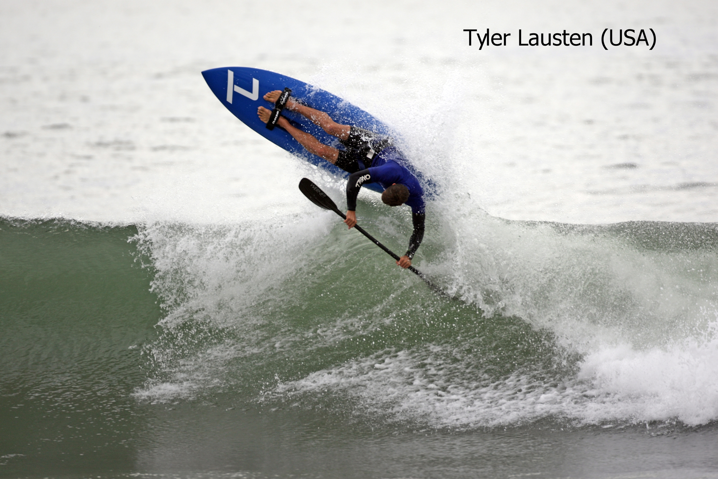 """TL"" Tyler Lausten (USA) - Showing Tyler Lausten, Owner - Santa Cruz, CA, USA - click on the picture to go to Tyler Lausten website - Photo Copyright Dominick Lemarie Photography"