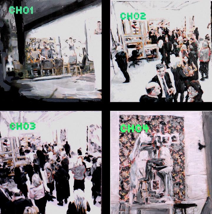 01  Studio Surveillance Channel 1-4
