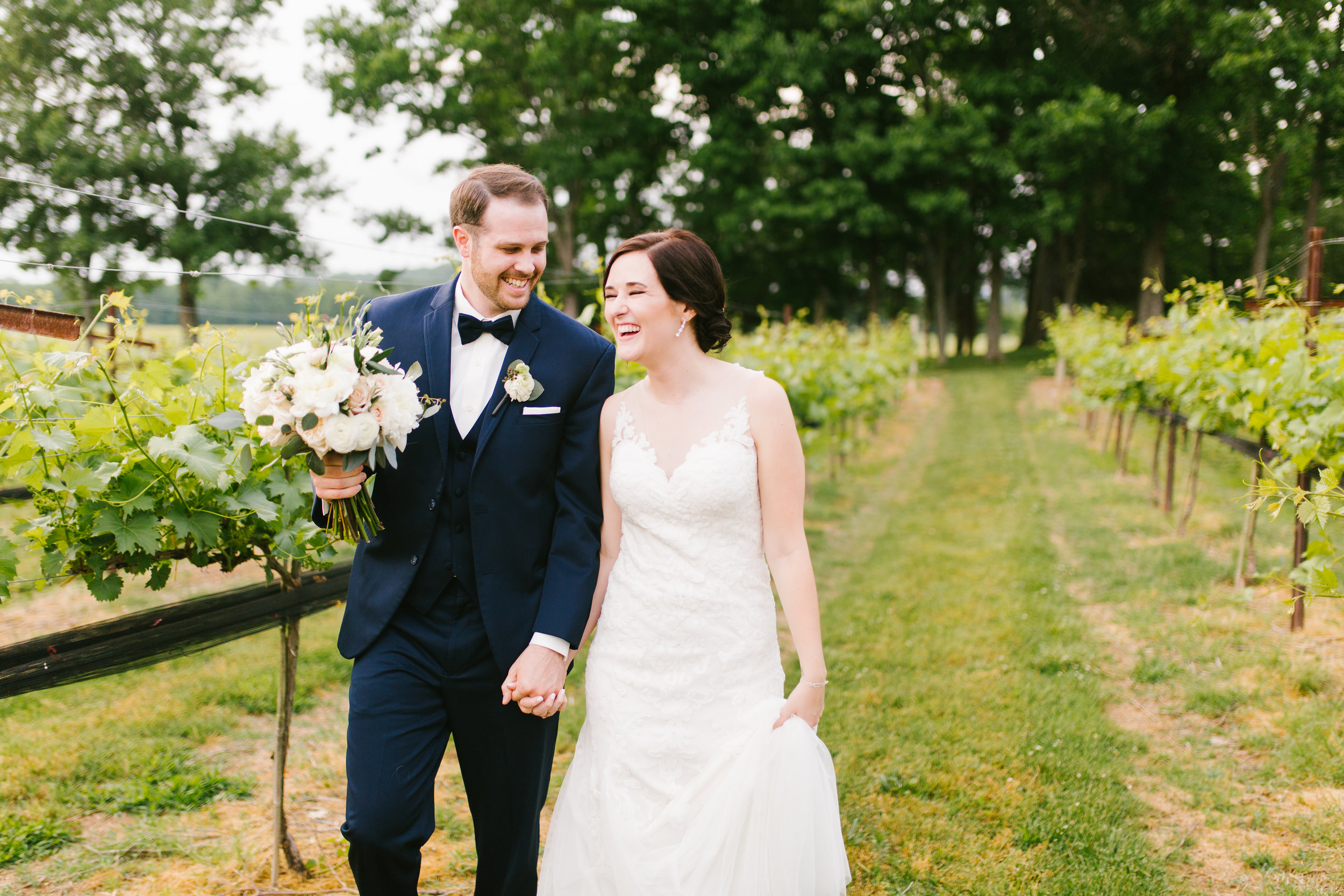Emily + BJ | Arrington Vineyard