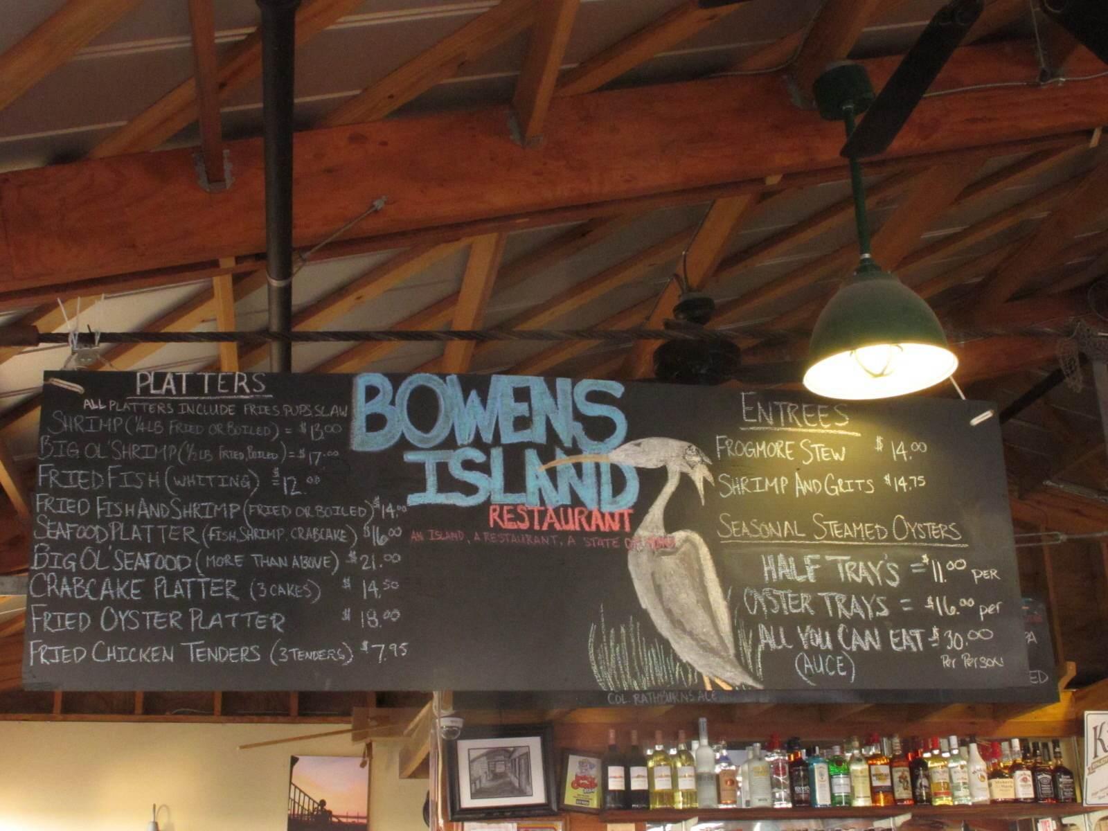 Bowen's Island Restaurant - Charleston, SC