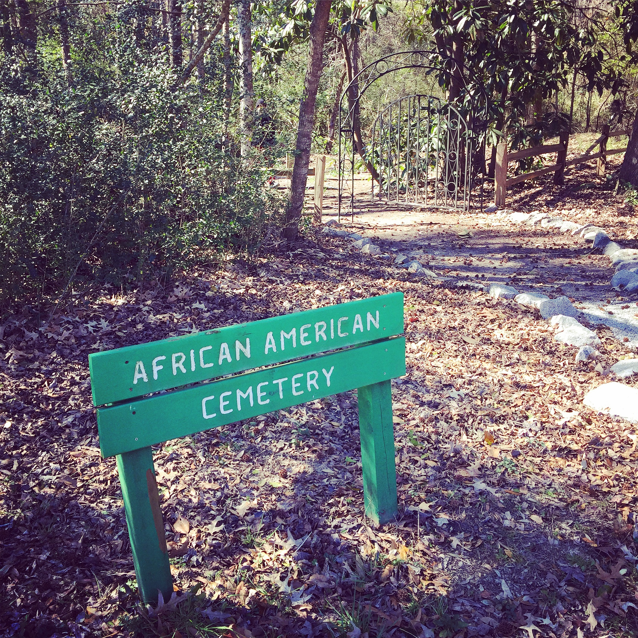African American Cemetery at Mepkin Abbey, Charleston, SC