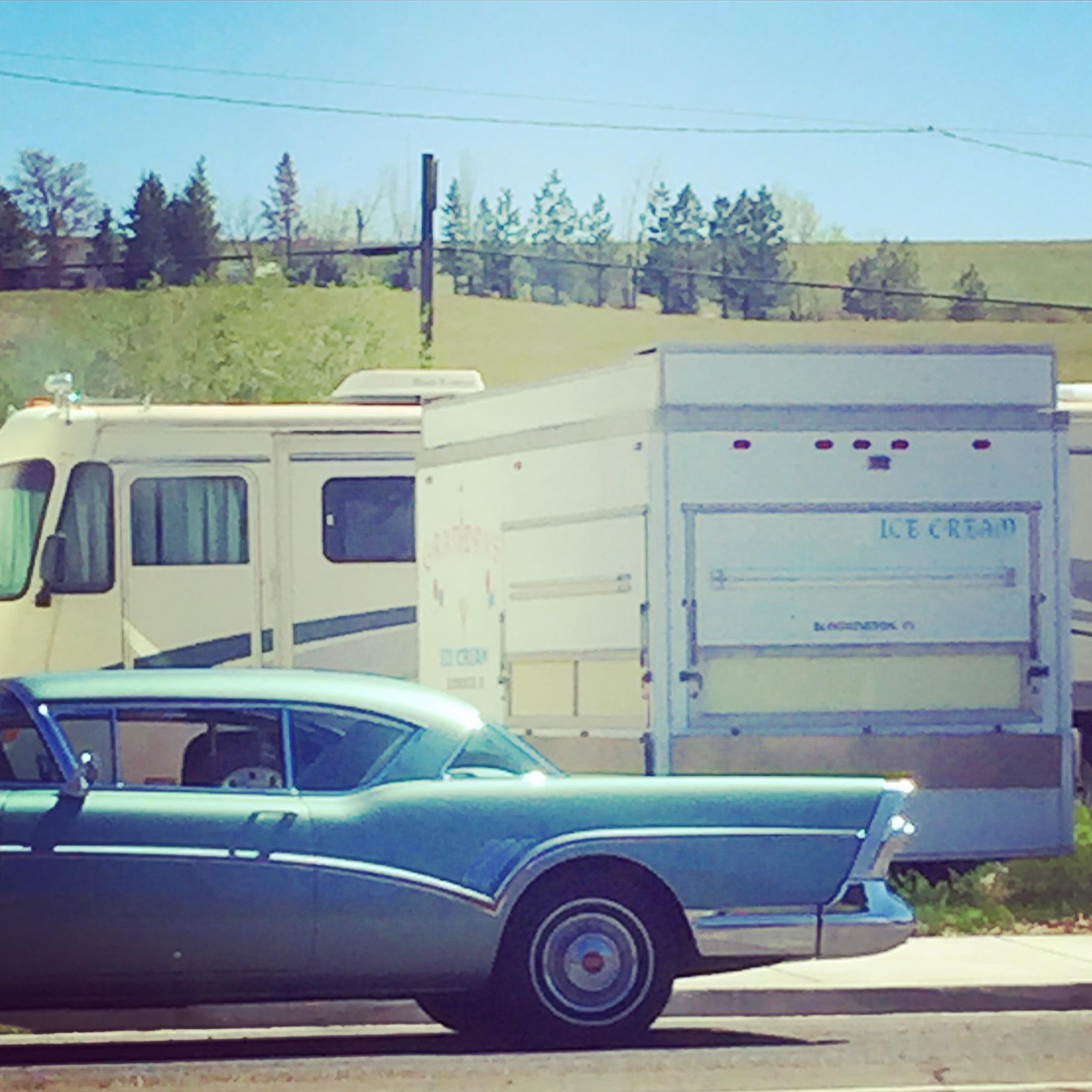 Vintage Buick & Ice Cream Truck, Washtucna, WA
