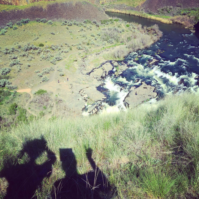 Selfie, Palouse Falls, WA