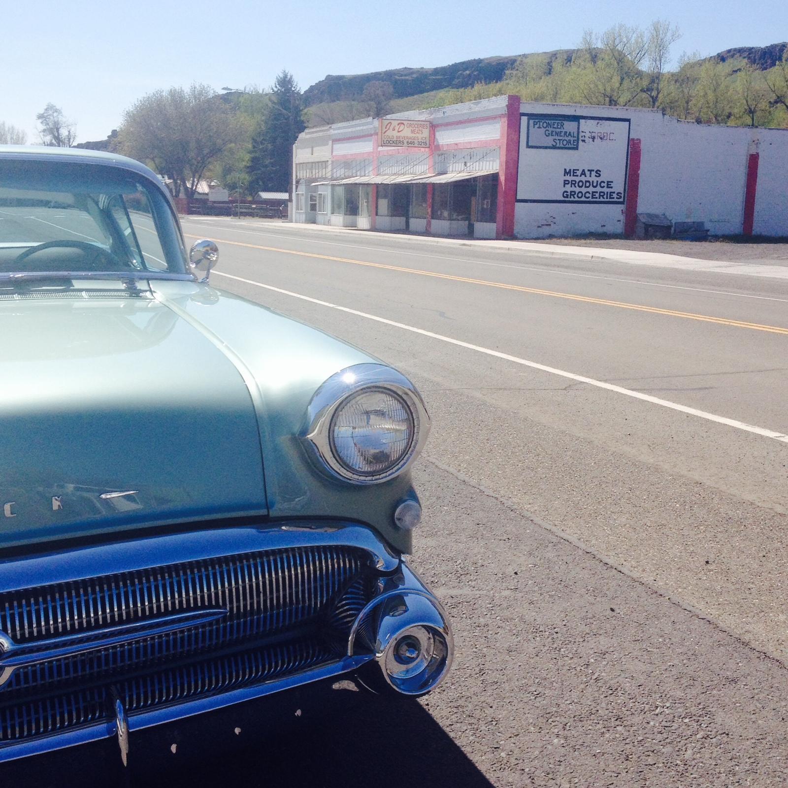 Vintage Buick, Washtucna, WA