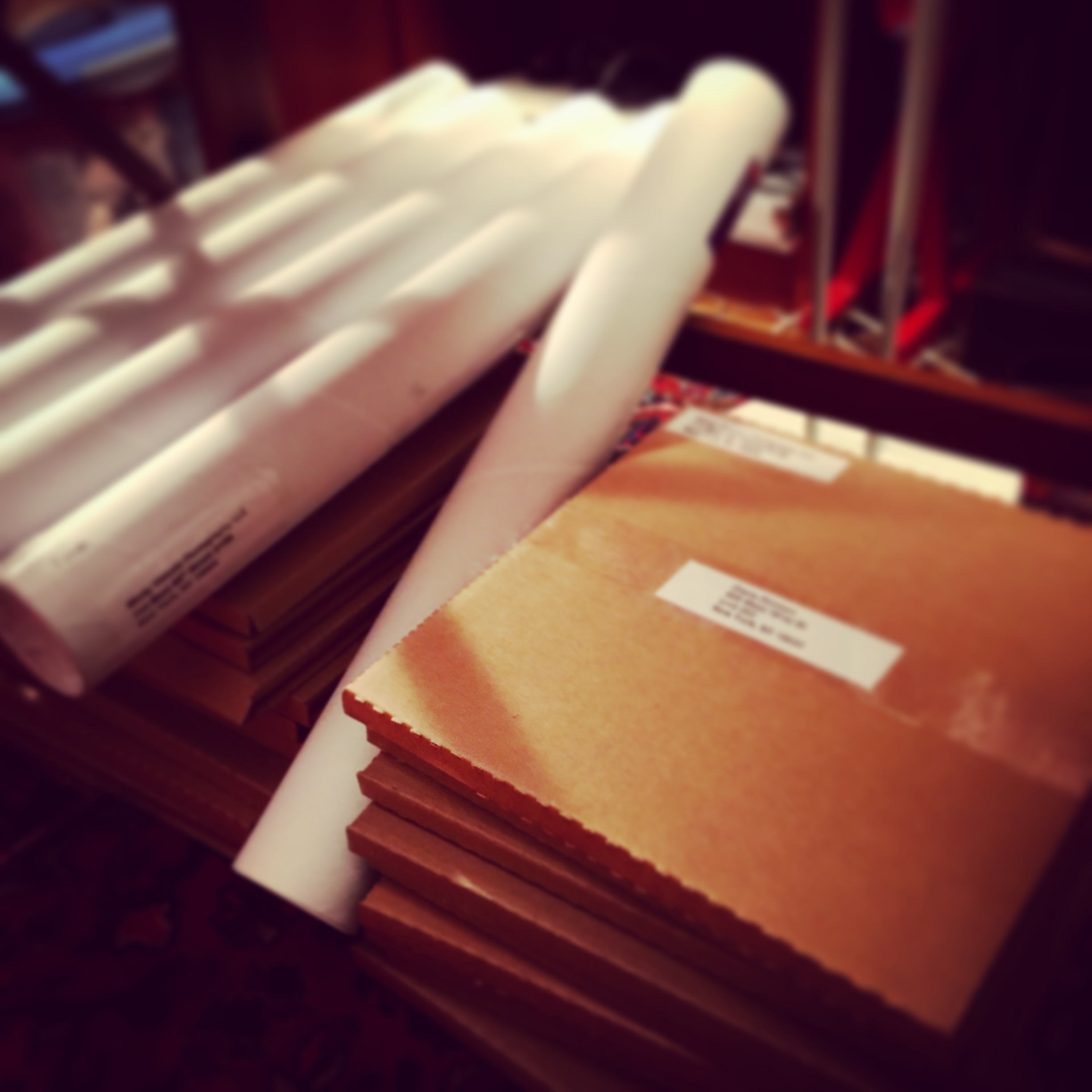 Books and prints are ready to ship!