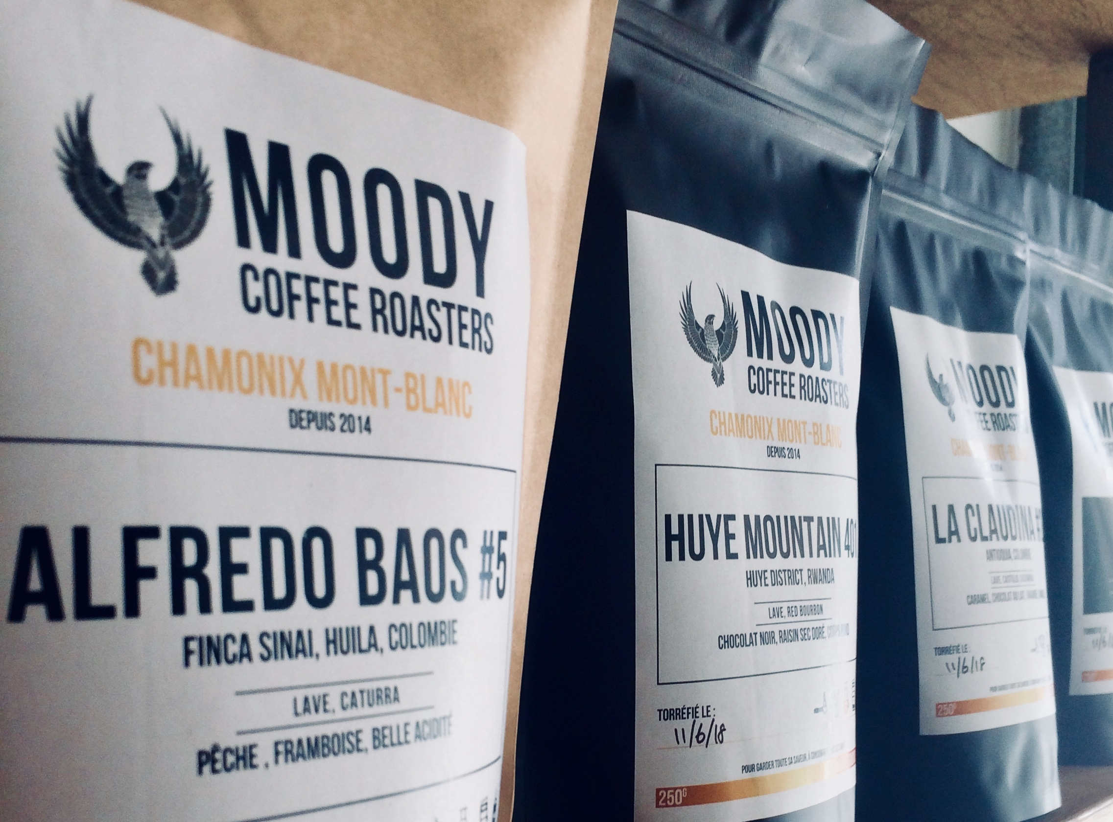 FRESHLY ROASTED COFFEE IN CHAMONIX MONT-BLANC