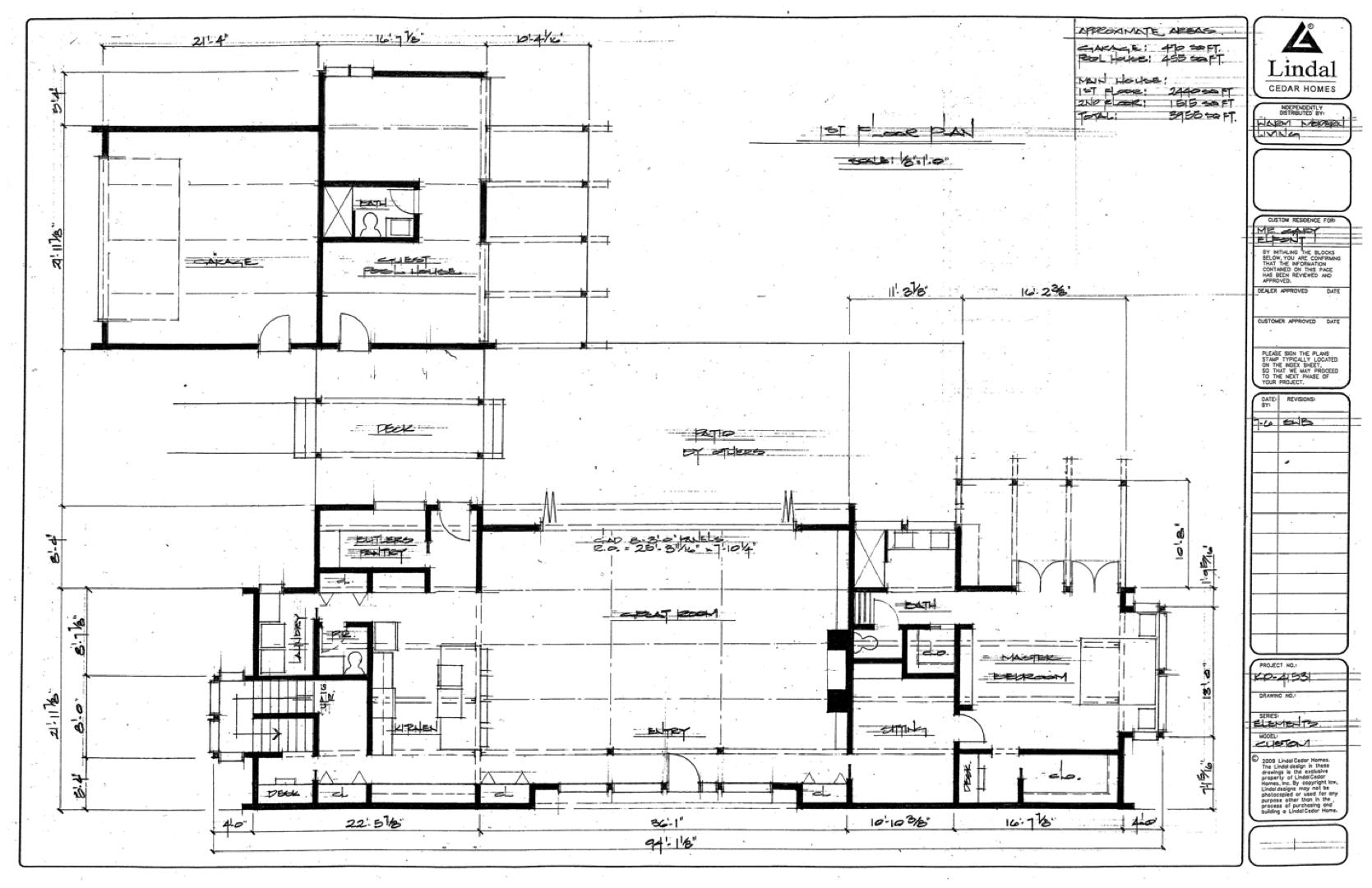 Lindal design development plan (July)