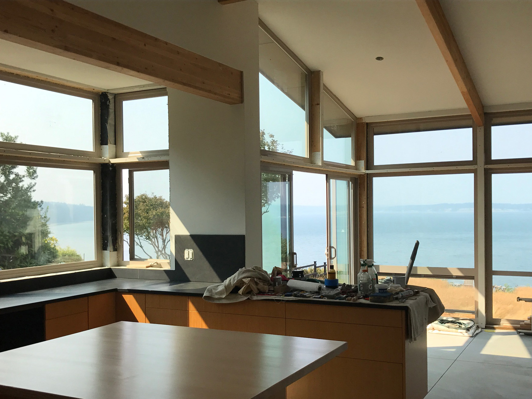 Living IN the view: proper siting for view, sunlight, and privacy make a great room greater