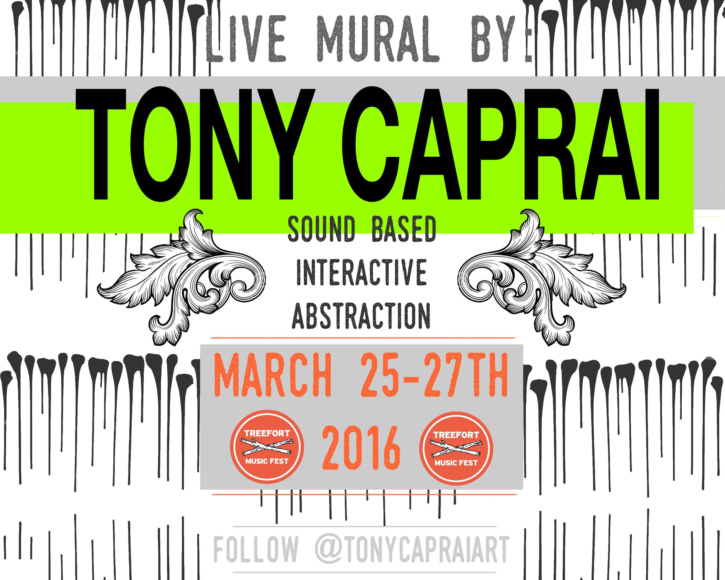 Treefort mural 2016- Tony Caprai