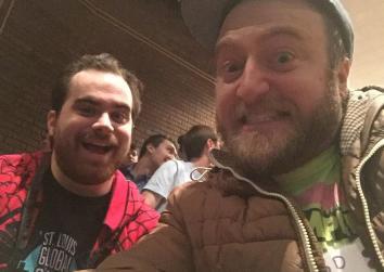 Phil (artist) and Ryan (developer)
