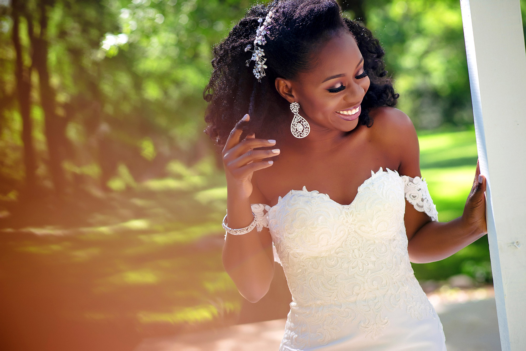 bride laughing during portrait session.jpg