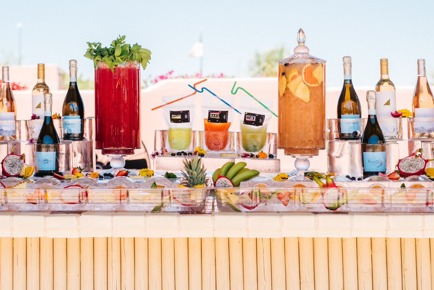 Desert Chill Cocktails + Mocktails by  F10 Catering   image credit:  Sarah Dickenson
