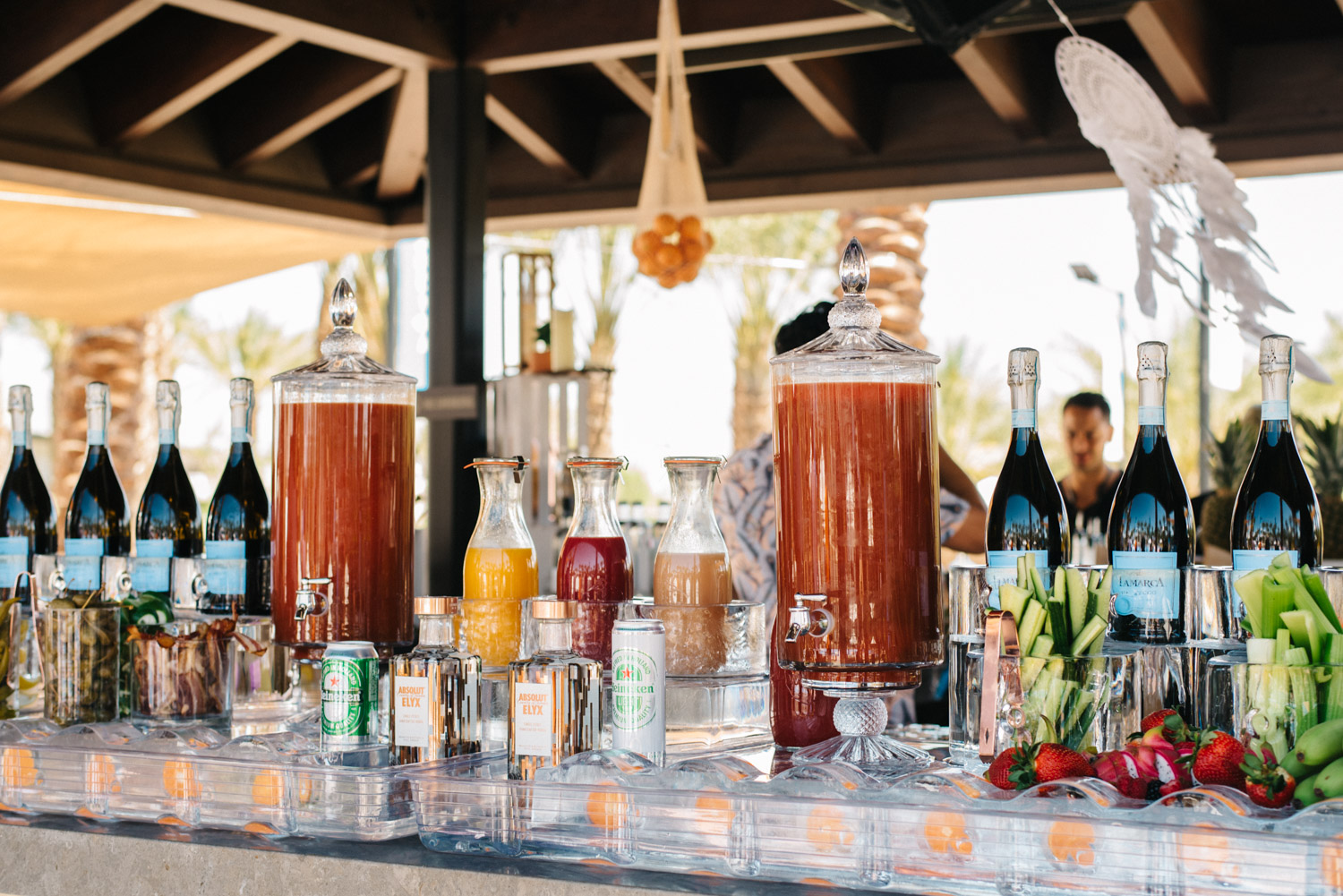 Bloody Mary + Prosecco Bar by  F10 Catering
