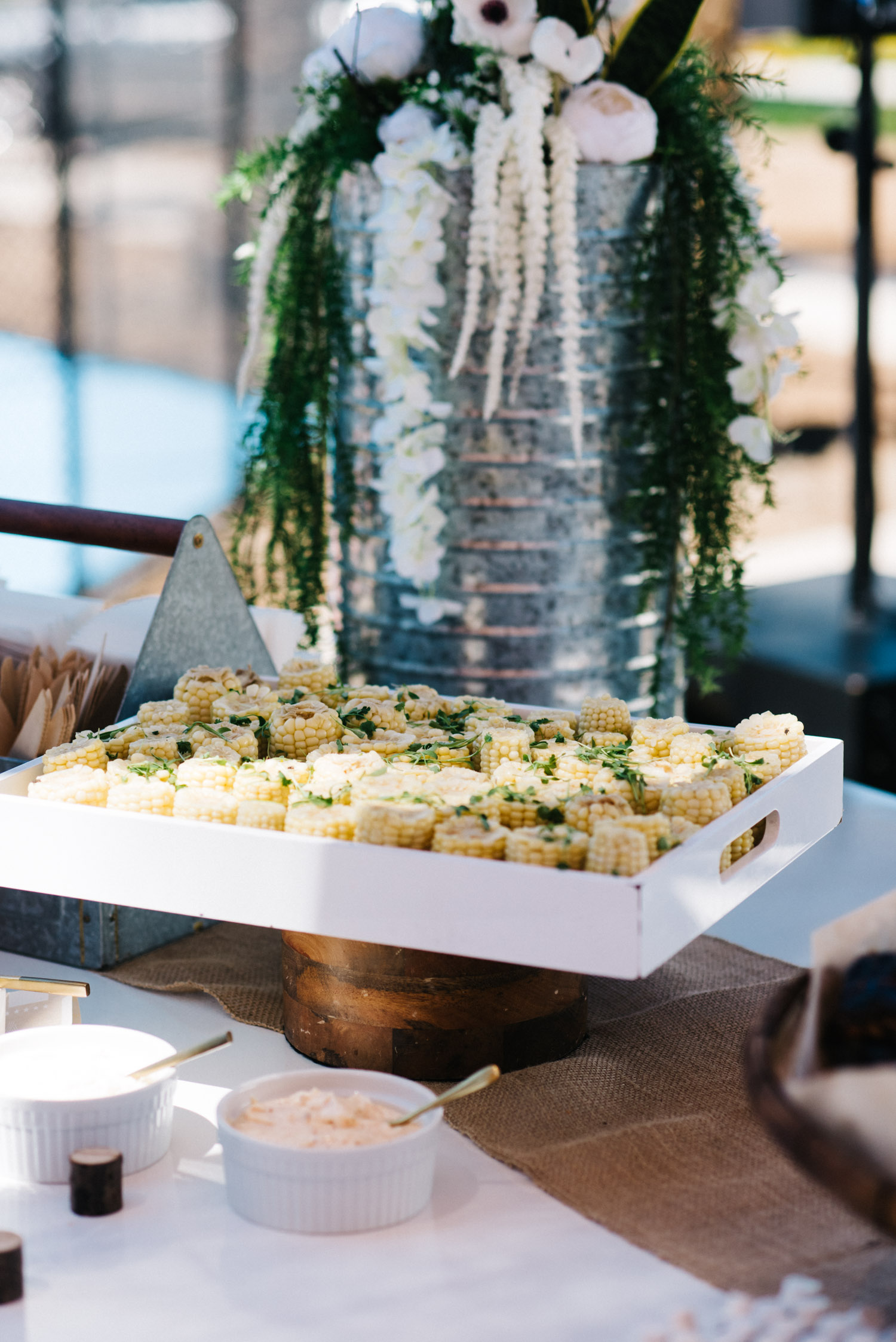 Street Corn by  F10 Catering