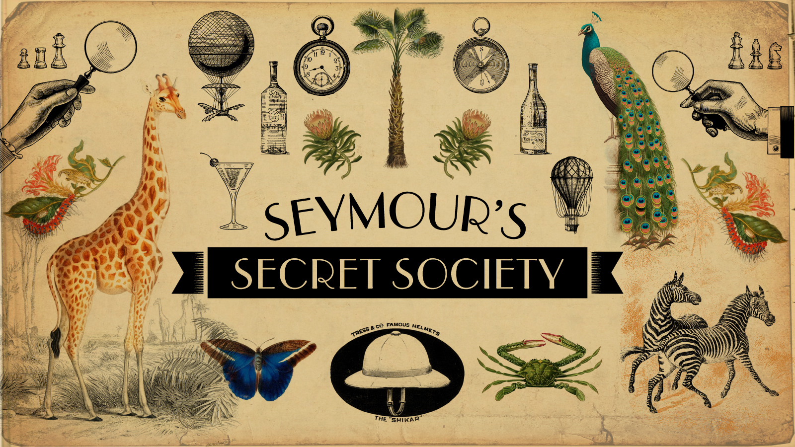 Special offers and invites await you as a member of   Seymour's Secret Society  .