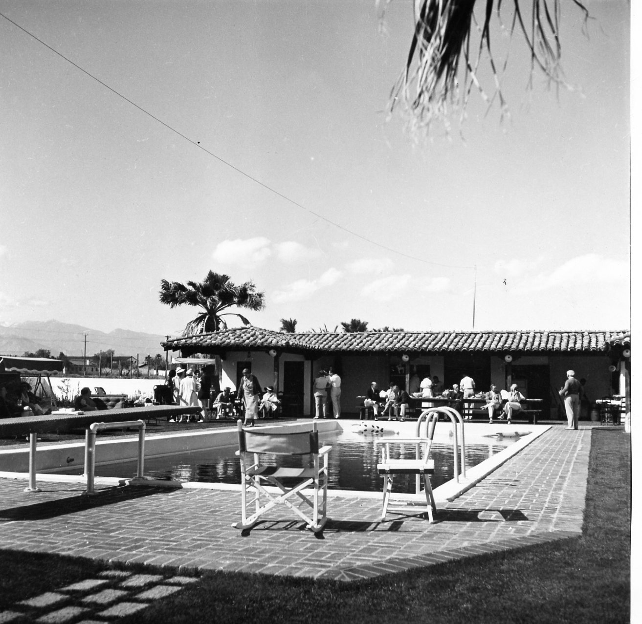 Darryl F. Zanuck Estate circa 1930 Source: Palm Springs Historical Society. All rights reserved.